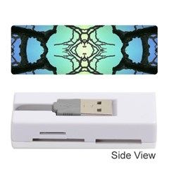 Branches With Diffuse Colour Background Memory Card Reader (stick)