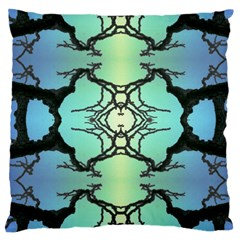Branches With Diffuse Colour Background Large Cushion Case (two Sides)
