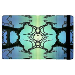 Branches With Diffuse Colour Background Apple Ipad 2 Flip Case