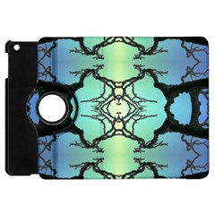 Branches With Diffuse Colour Background Apple Ipad Mini Flip 360 Case