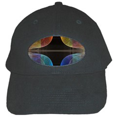 Black Cross With Color Map Fractal Image Of Black Cross With Color Map Black Cap by Nexatart