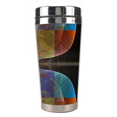 Black Cross With Color Map Fractal Image Of Black Cross With Color Map Stainless Steel Travel Tumblers by Nexatart