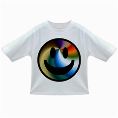 Simple Smiley In Color Infant/toddler T Shirts