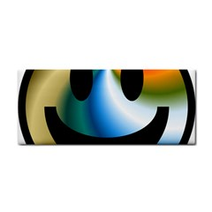 Simple Smiley In Color Cosmetic Storage Cases by Nexatart