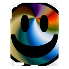 Simple Smiley In Color Apple Ipad 3/4 Hardshell Case by Nexatart