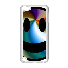 Simple Smiley In Color Apple Ipod Touch 5 Case (white) by Nexatart