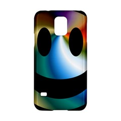 Simple Smiley In Color Samsung Galaxy S5 Hardshell Case