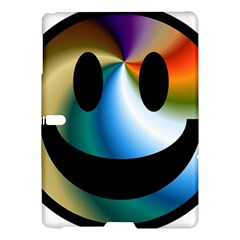 Simple Smiley In Color Samsung Galaxy Tab S (10 5 ) Hardshell Case  by Nexatart