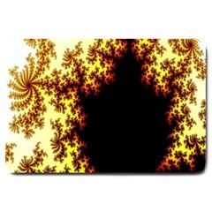 A Fractal Image Large Doormat