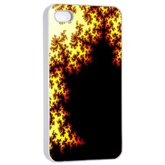 A Fractal Image Apple Iphone 4/4s Seamless Case (white) by Nexatart