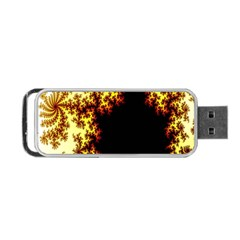 A Fractal Image Portable Usb Flash (two Sides)