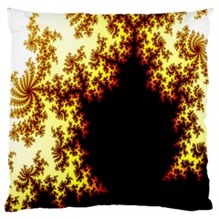 A Fractal Image Large Flano Cushion Case (two Sides)