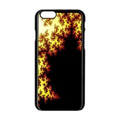 A Fractal Image Apple Iphone 6/6s Black Enamel Case by Nexatart