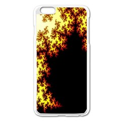 A Fractal Image Apple Iphone 6 Plus/6s Plus Enamel White Case