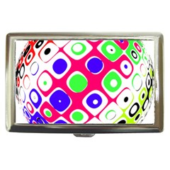 Color Ball Sphere With Color Dots Cigarette Money Cases by Nexatart
