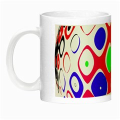 Color Ball Sphere With Color Dots Night Luminous Mugs by Nexatart