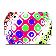 Color Ball Sphere With Color Dots Plate Mats