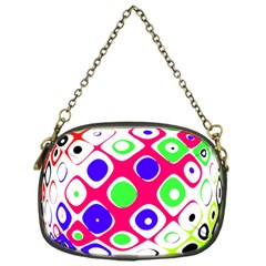 Color Ball Sphere With Color Dots Chain Purses (one Side)  by Nexatart