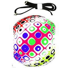 Color Ball Sphere With Color Dots Shoulder Sling Bags by Nexatart