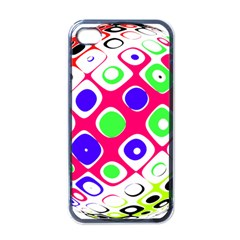 Color Ball Sphere With Color Dots Apple Iphone 4 Case (black)