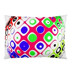Color Ball Sphere With Color Dots Pillow Case (two Sides) by Nexatart