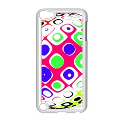 Color Ball Sphere With Color Dots Apple Ipod Touch 5 Case (white)