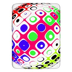 Color Ball Sphere With Color Dots Samsung Galaxy Tab 3 (10 1 ) P5200 Hardshell Case  by Nexatart