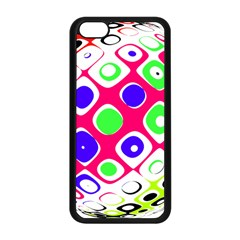 Color Ball Sphere With Color Dots Apple Iphone 5c Seamless Case (black)