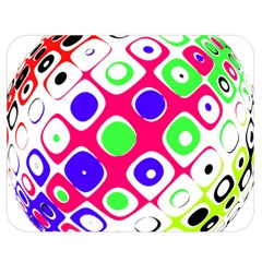 Color Ball Sphere With Color Dots Double Sided Flano Blanket (Medium)  by Nexatart