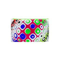 Color Ball Sphere With Color Dots Cosmetic Bag (xs) by Nexatart