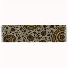 White Vintage Frame With Sepia Targets Large Bar Mats by Nexatart