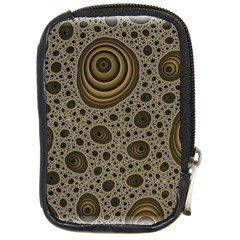 White Vintage Frame With Sepia Targets Compact Camera Cases by Nexatart