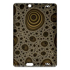 White Vintage Frame With Sepia Targets Amazon Kindle Fire Hd (2013) Hardshell Case by Nexatart