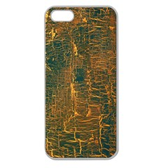 Black And Yellow Color Apple Seamless Iphone 5 Case (clear) by Nexatart