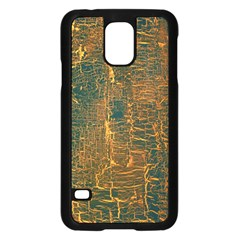 Black And Yellow Color Samsung Galaxy S5 Case (black)