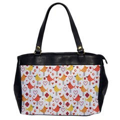 Happy Birds Seamless Pattern Animal Birds Pattern Office Handbags by Nexatart