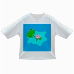 Frog Flower Lilypad Lily Pad Water Infant/toddler T Shirts