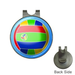 Balloon Volleyball Ball Sport Hat Clips With Golf Markers by Nexatart