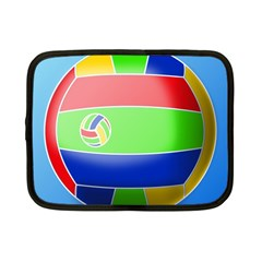 Balloon Volleyball Ball Sport Netbook Case (small)  by Nexatart