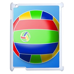 Balloon Volleyball Ball Sport Apple Ipad 2 Case (white) by Nexatart