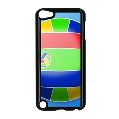 Balloon Volleyball Ball Sport Apple Ipod Touch 5 Case (black)