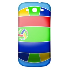 Balloon Volleyball Ball Sport Samsung Galaxy S3 S Iii Classic Hardshell Back Case by Nexatart