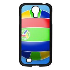 Balloon Volleyball Ball Sport Samsung Galaxy S4 I9500/ I9505 Case (black) by Nexatart