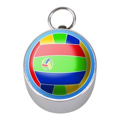 Balloon Volleyball Ball Sport Mini Silver Compasses by Nexatart
