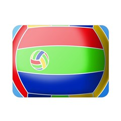 Balloon Volleyball Ball Sport Double Sided Flano Blanket (mini)