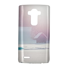 Winter Day Pink Mood Cottages Lg G4 Hardshell Case by Nexatart