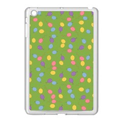 Balloon Grass Party Green Purple Apple Ipad Mini Case (white)