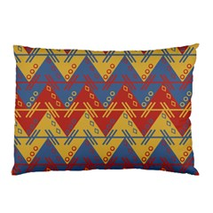 Aztec South American Pattern Zig Zag Pillow Case (two Sides)