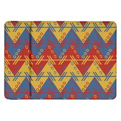 Aztec South American Pattern Zig Zag Samsung Galaxy Tab 8 9  P7300 Flip Case by Nexatart
