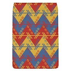 Aztec South American Pattern Zig Zag Flap Covers (l)